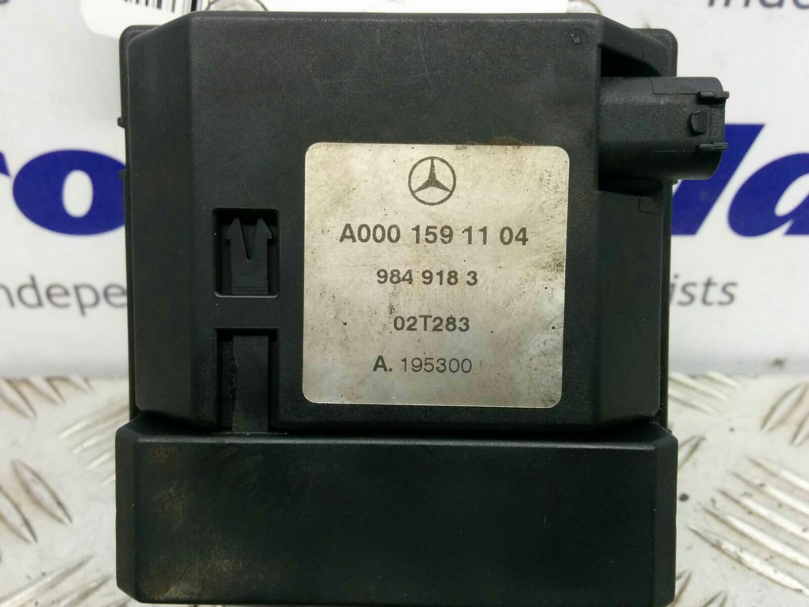 View Auto part Aux Water Heater Mercedes E Class 2000