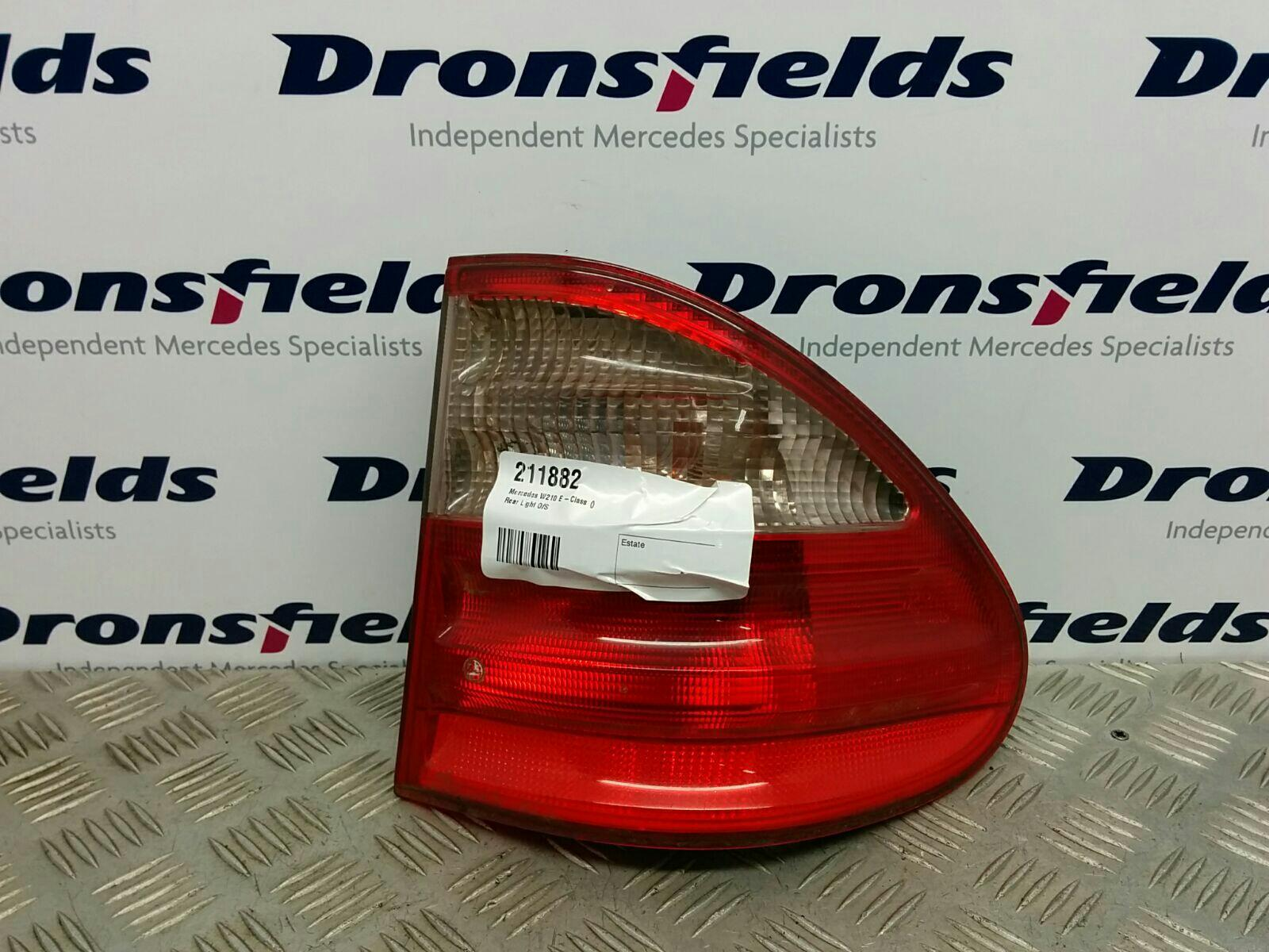 View Auto part R Taillight Mercedes E Class 1900