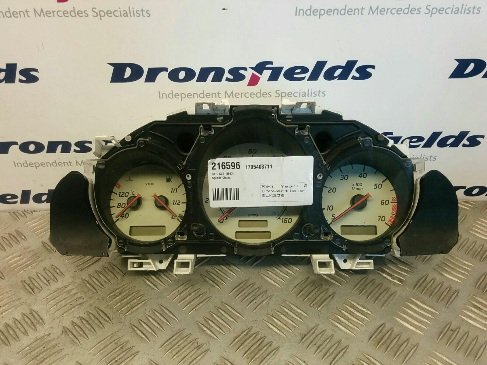 View Auto part Speedometer Mercedes Slk 2000