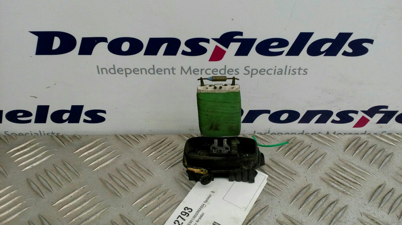 View Auto part Heater Rheostat Mercedes Sprinter 2004
