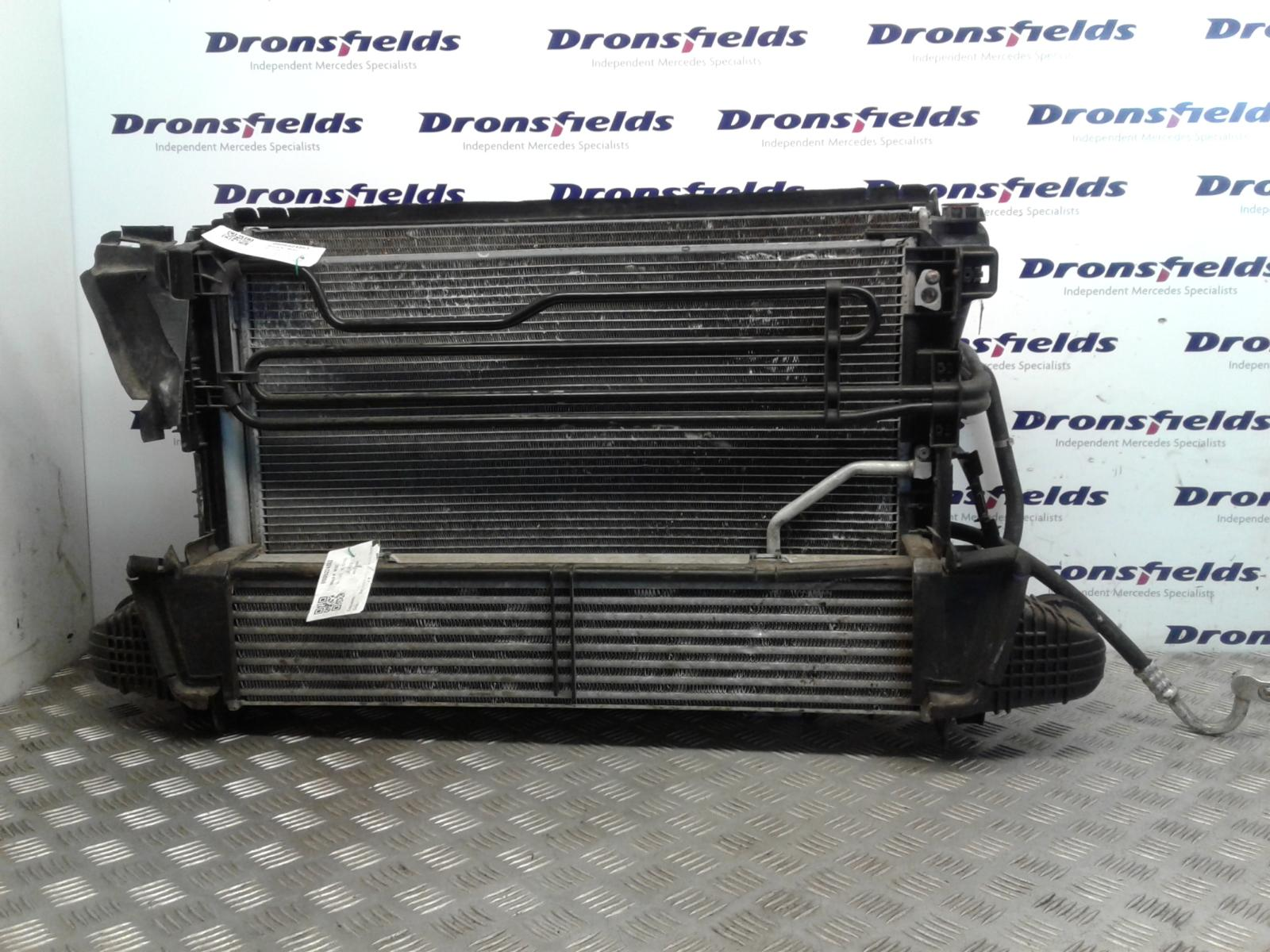 View Auto part Intercooler Mercedes C Class 2008