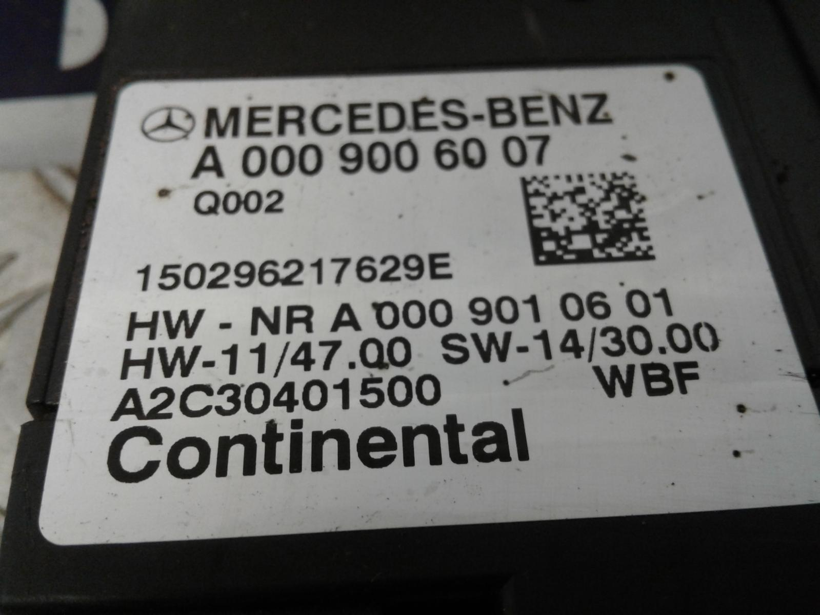 View Auto part Fuel Pump Relay Mercedes C Class 2015