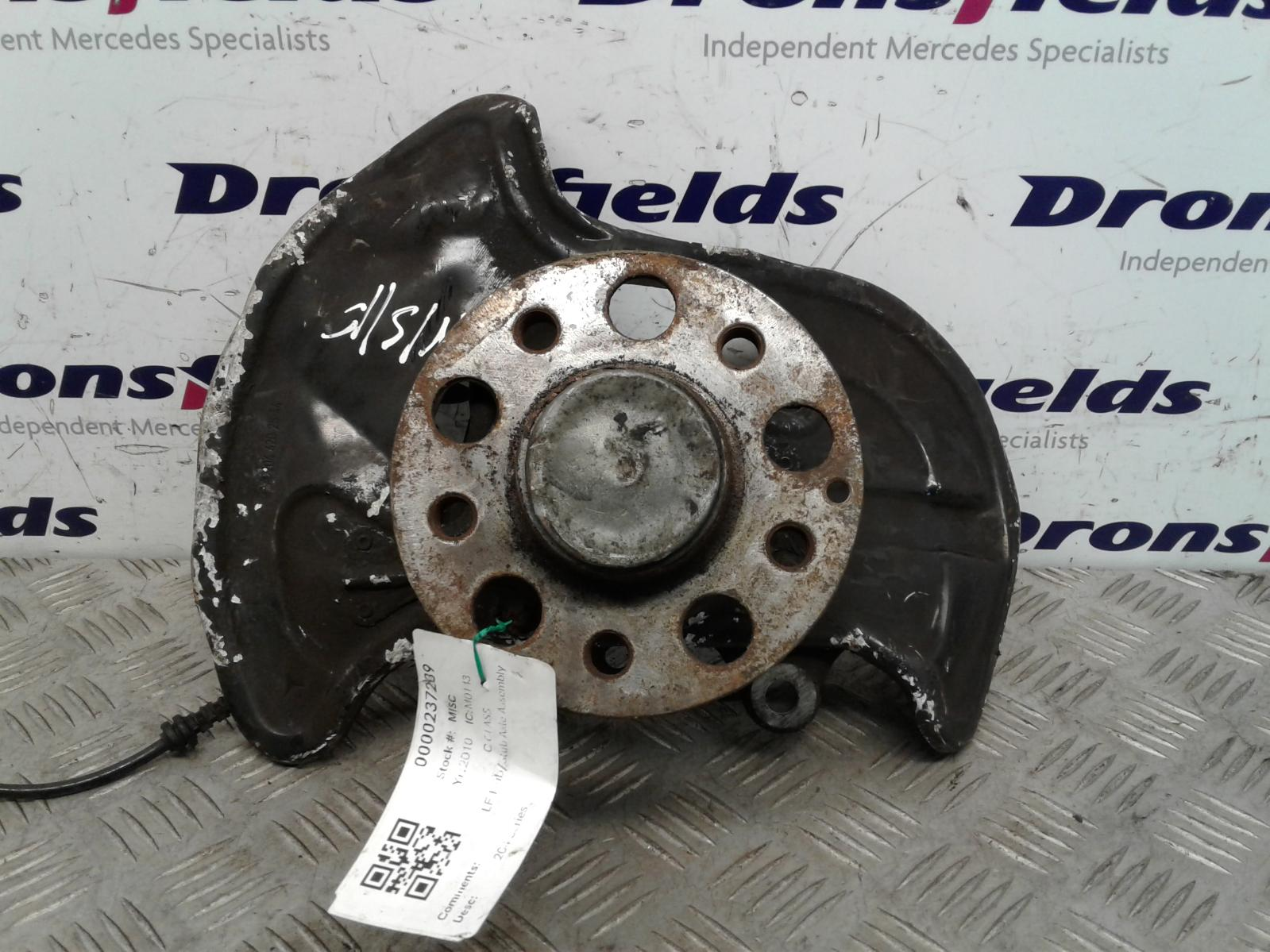 View Auto part LF Hub/Stub Axle Assembly Mercedes C Class 2010