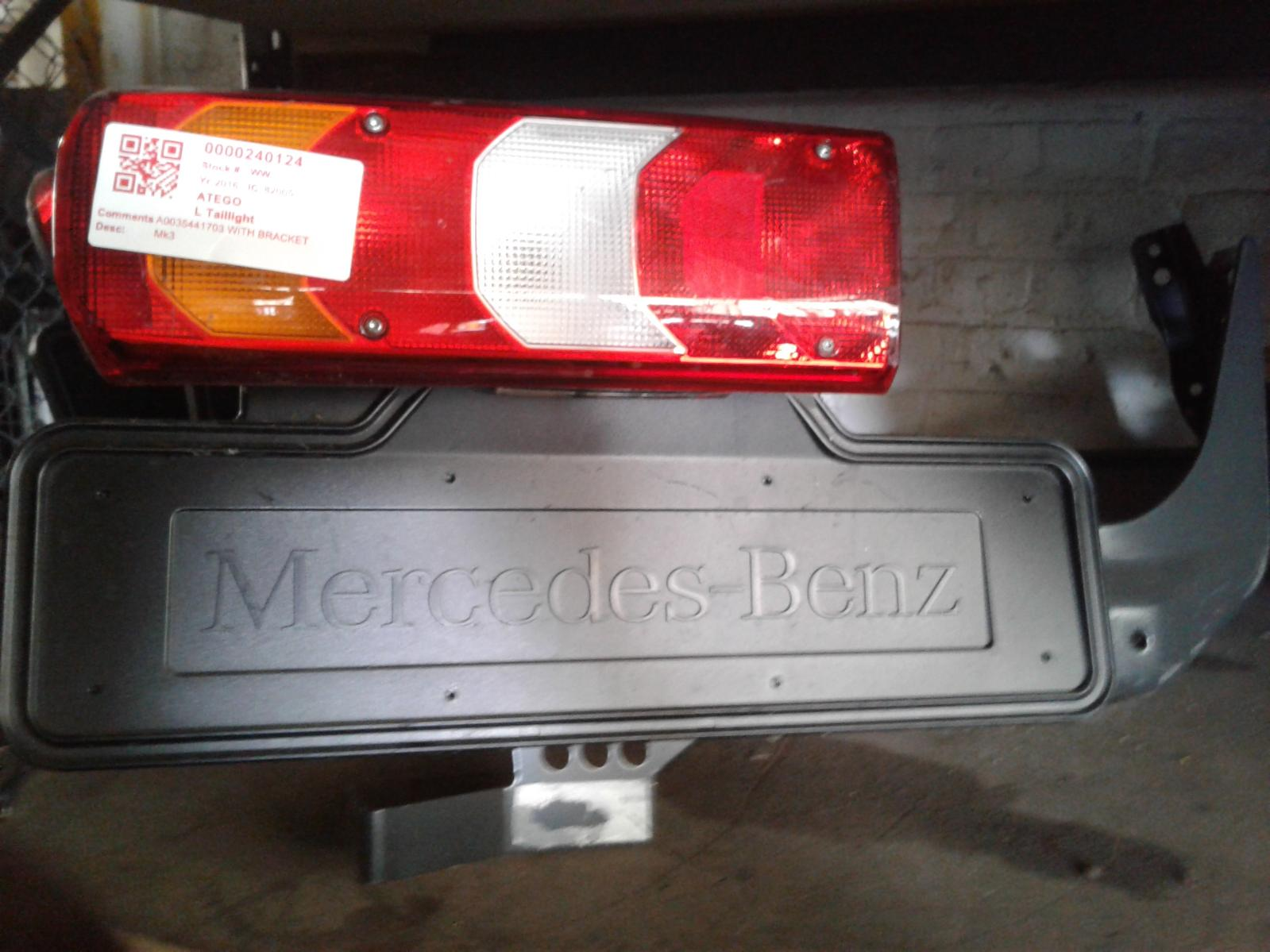 View Auto part L Taillight Mercedes Atego 2016