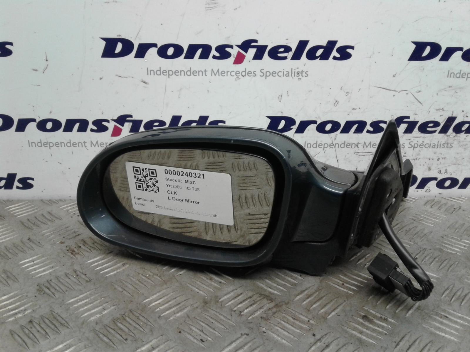 View Auto part L Door Mirror Mercedes Clk 2006