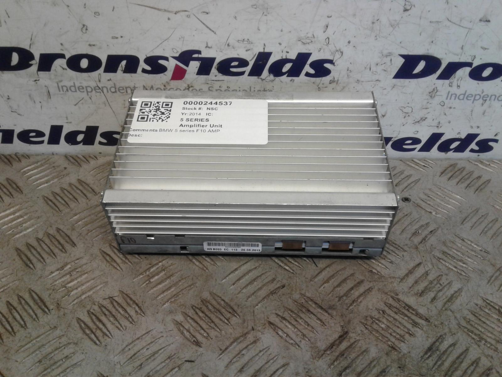 View Auto part Amplifier Unit Bmw 5 Series 2014