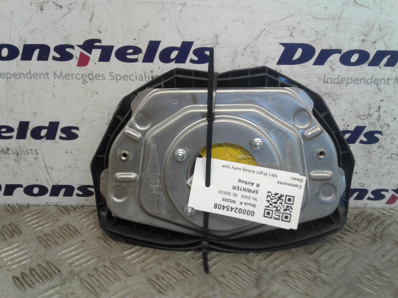View Auto part R Air Bag Mercedes Sprinter 2006