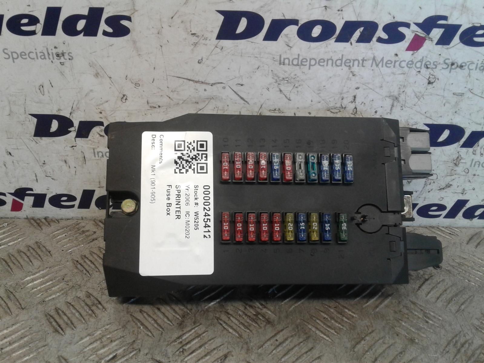 View Auto part Fuse Box Mercedes Sprinter 2006