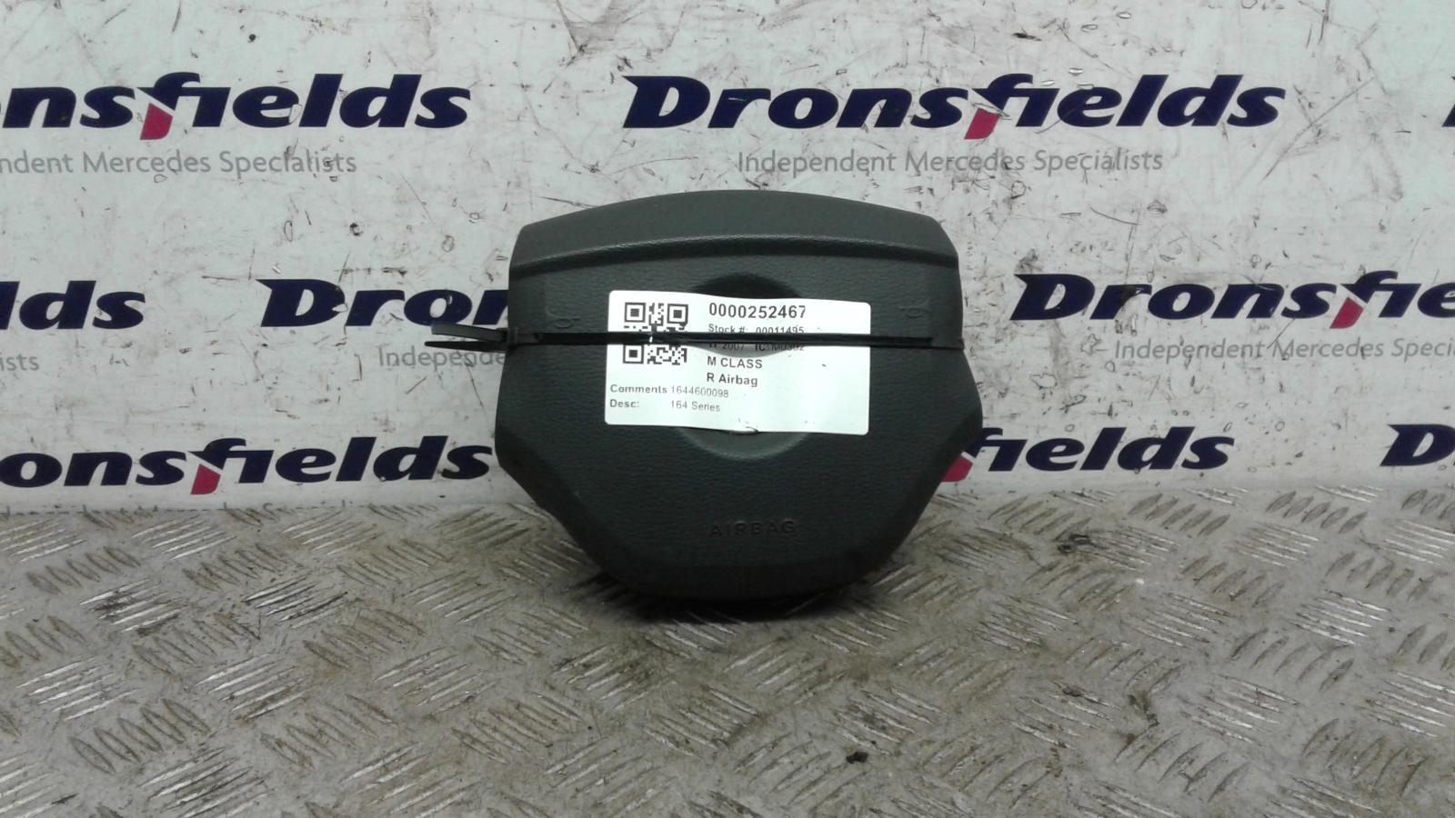 View Auto part R Air Bag Mercedes M Class 2007
