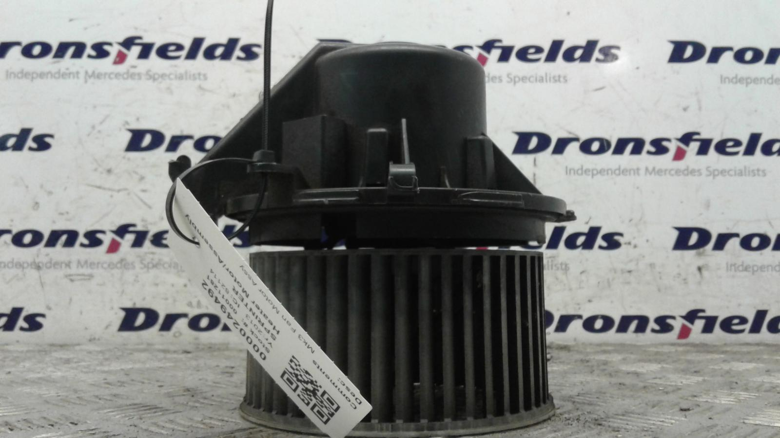 View Auto part Heater Motor/Assembly Mercedes Sprinter 2013