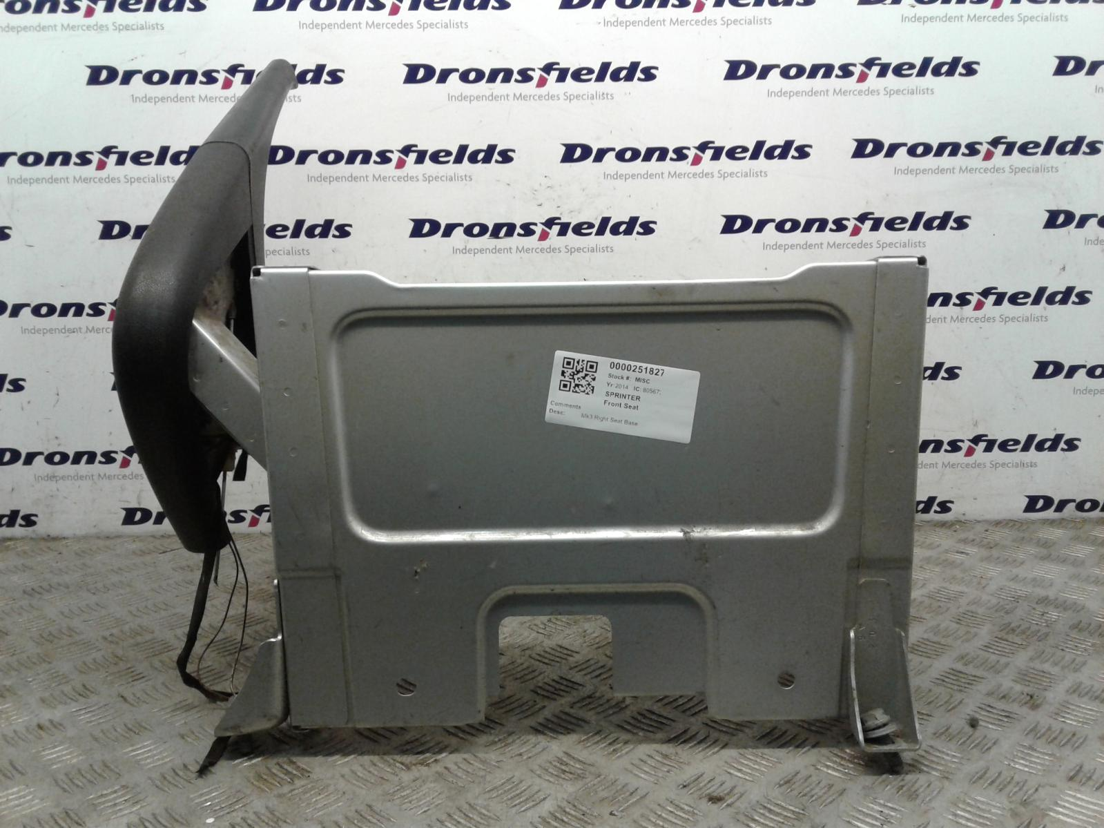 View Auto part Front Seat Mercedes Sprinter 2014