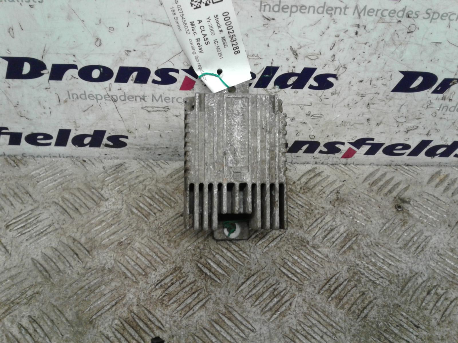 View Auto part Misc. Relay Mercedes A Class 2000