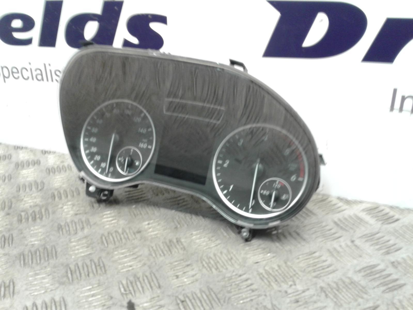 View Auto part Speedometer Mercedes B Class 2013