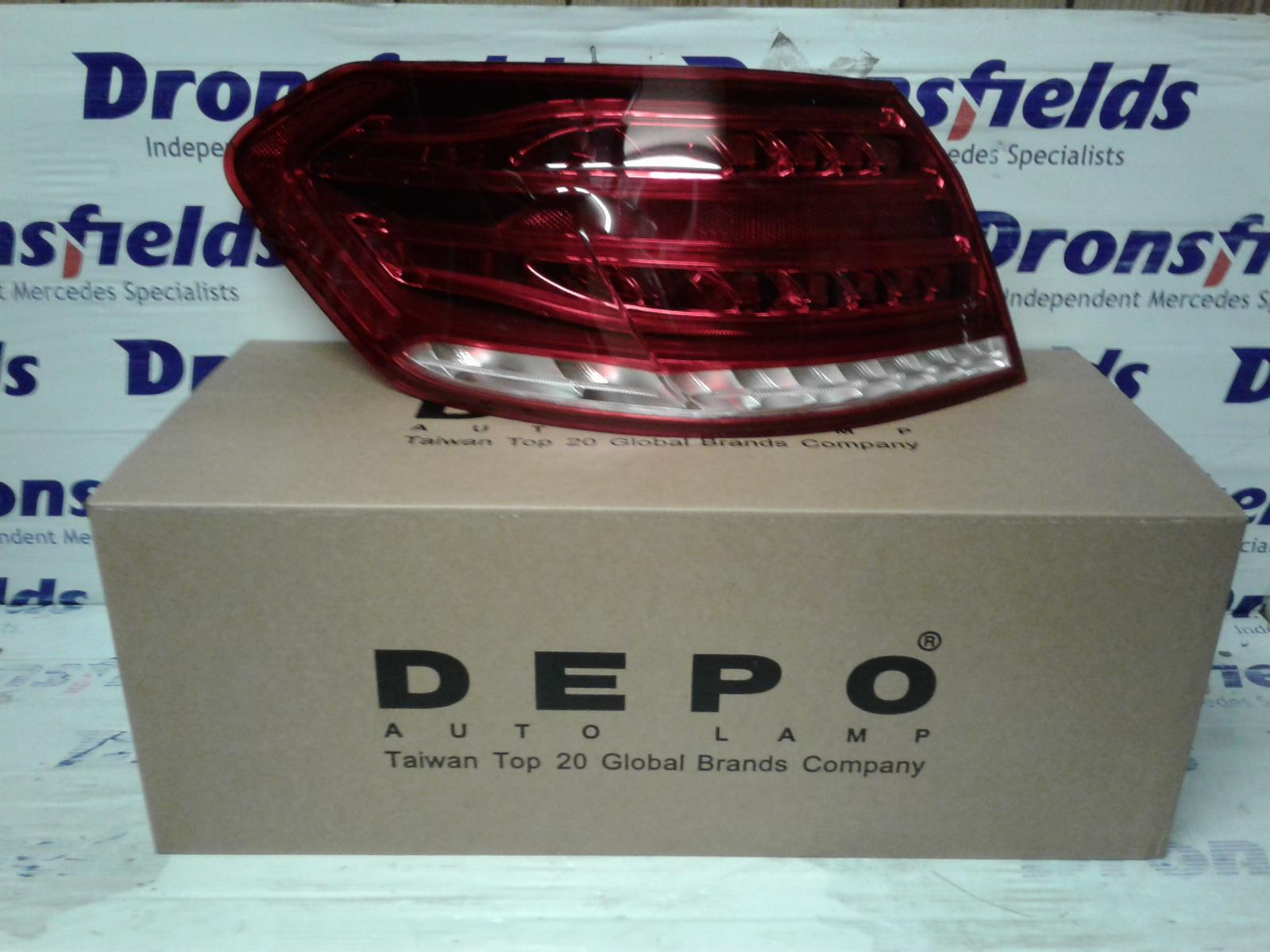 View Auto part L Taillight Mercedes E Class 2013
