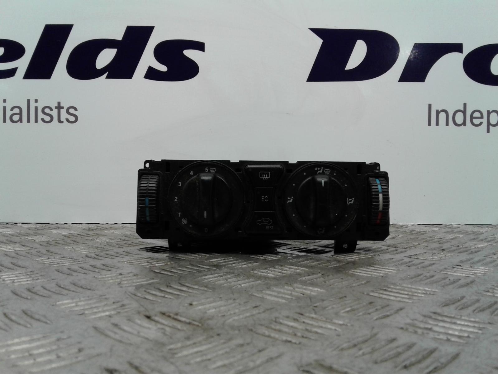 View Auto part Heater/AC Controller Mercedes C Class 1998