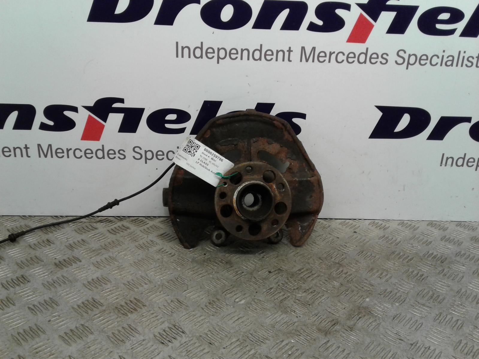 View Auto part LF Hub/Stub Axle Assembly Mercedes A Class 2006