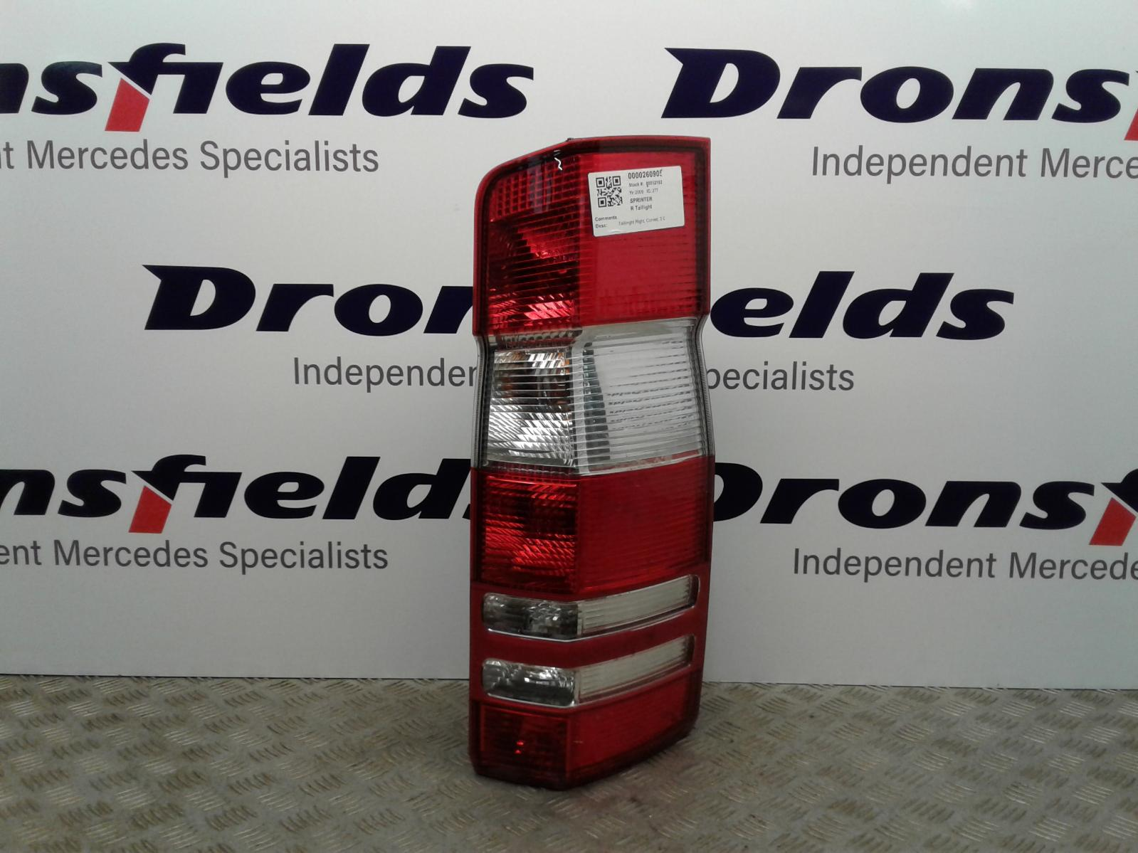 View Auto part R Taillight Mercedes Sprinter 2009