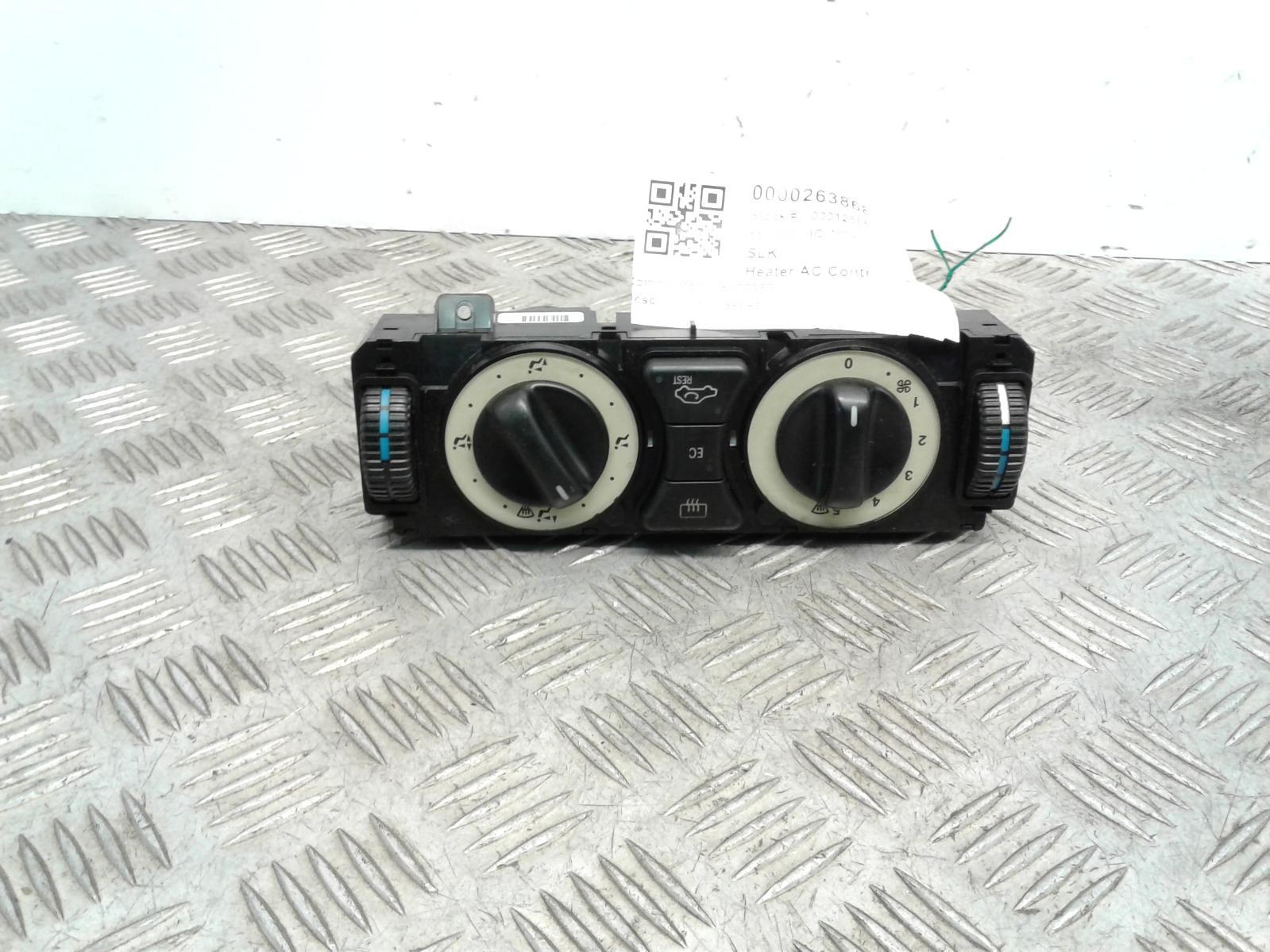 View Auto part Heater/AC Controller Mercedes Slk 1999
