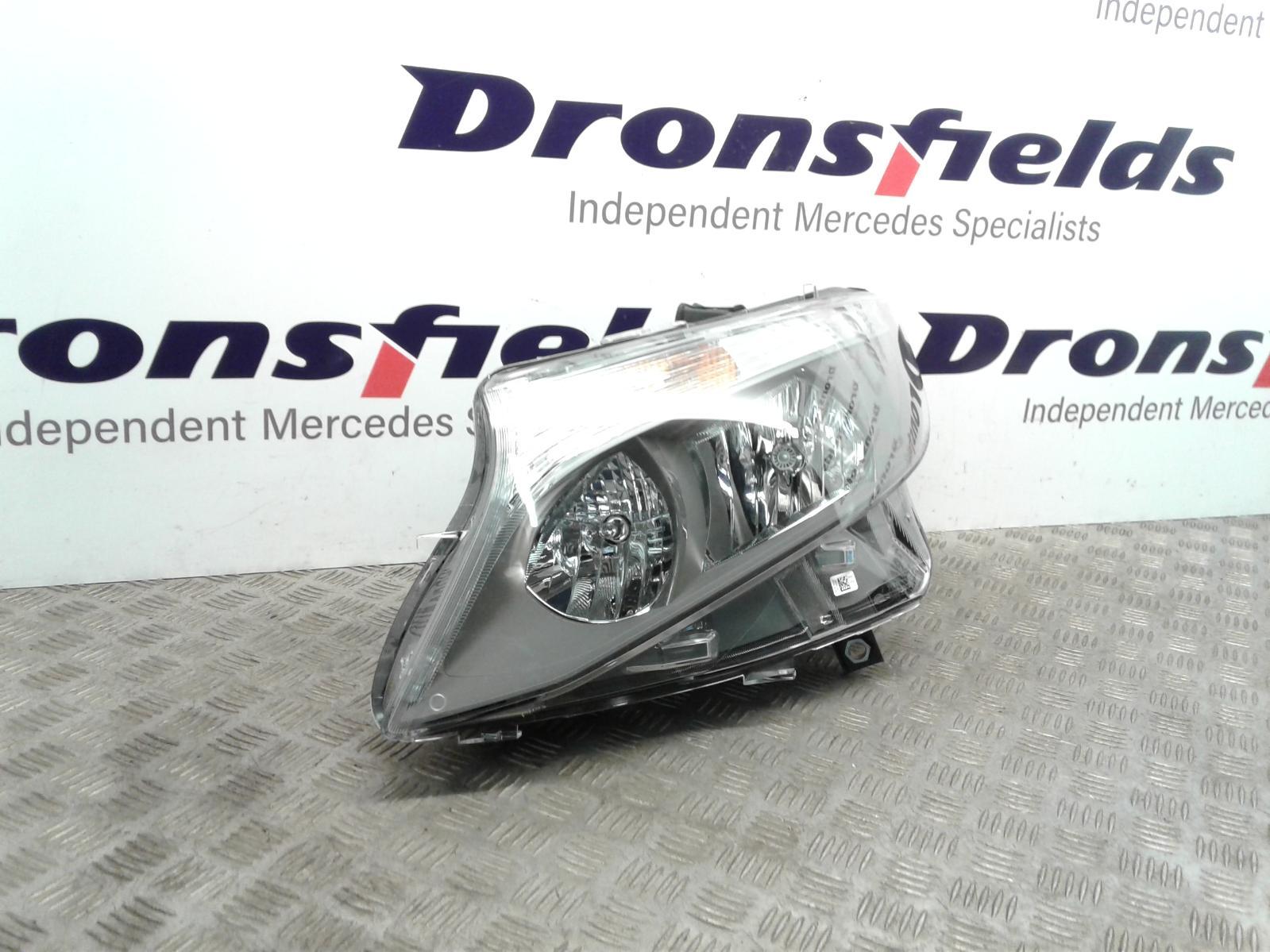 View Auto part L Headlamp Mercedes Vito 2017