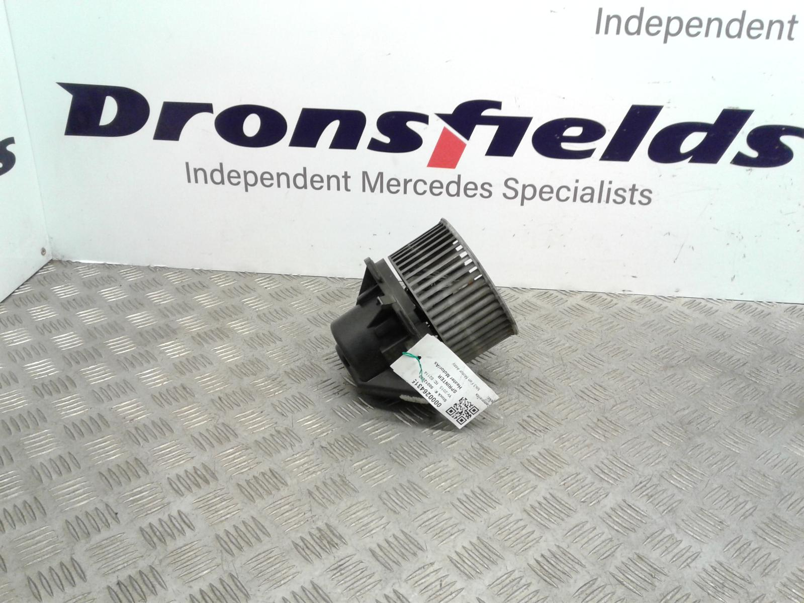 View Auto part Heater Motor/Assembly Mercedes Sprinter 2015