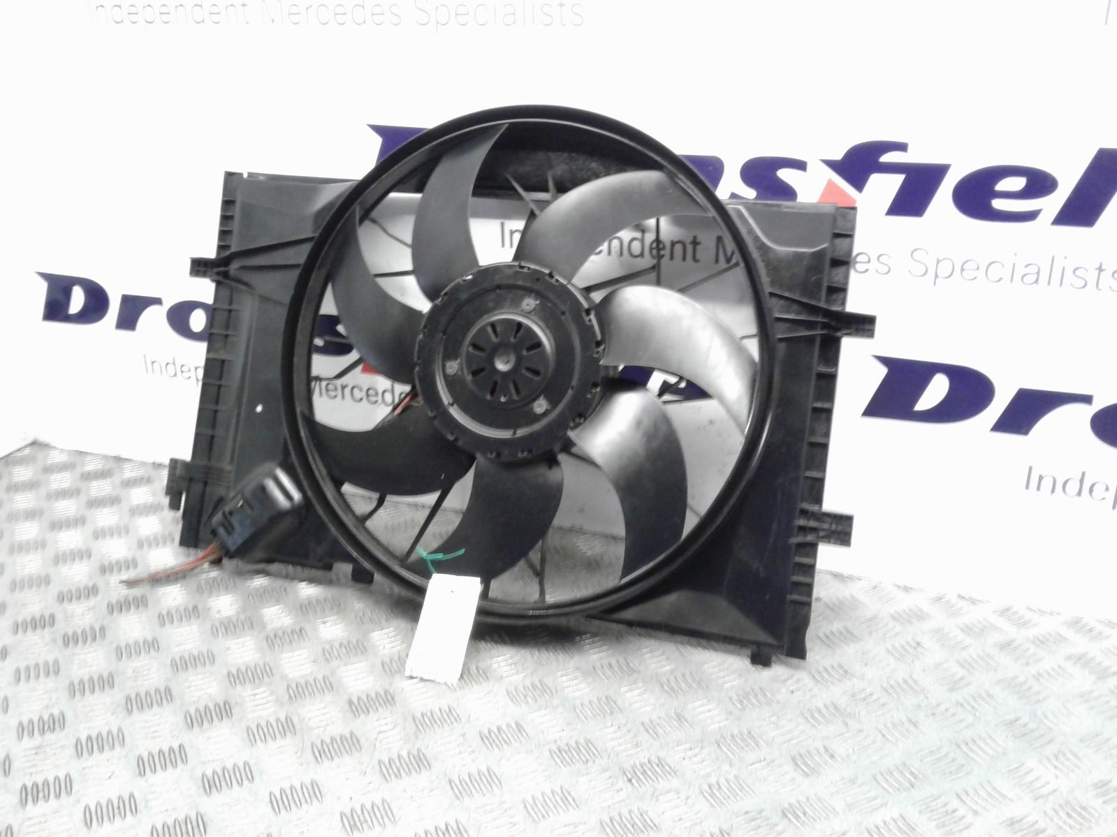 View Auto part Engine Cooling Motor Mercedes C Class 2004