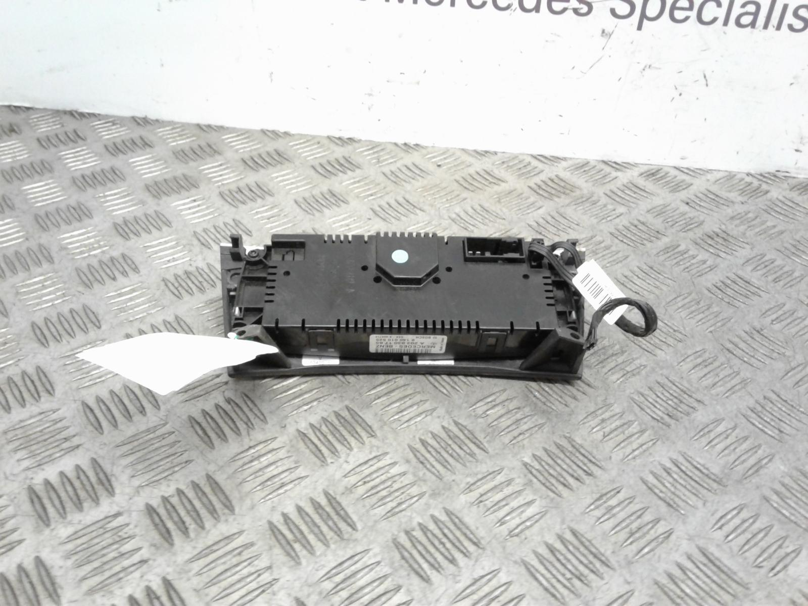 View Auto part Heater/AC Controller Mercedes C Class 2004