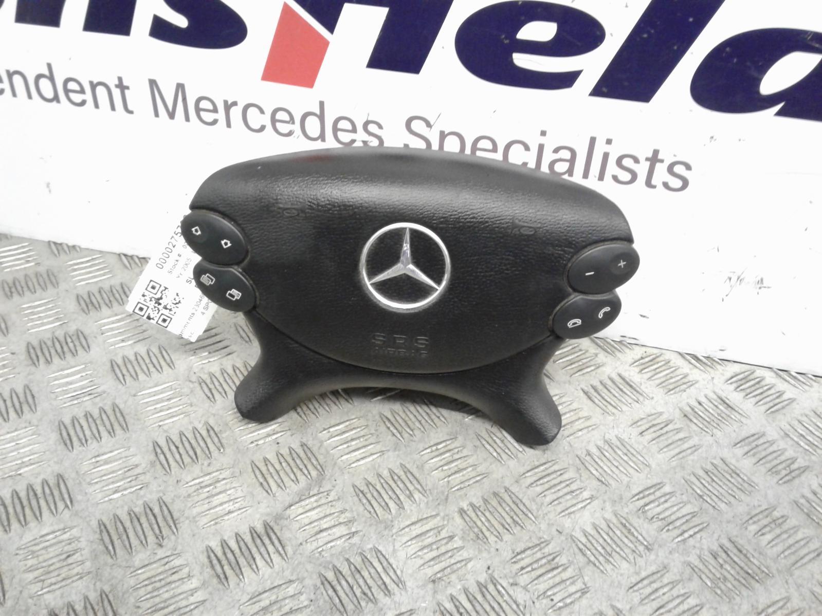 View Auto part R Air Bag Mercedes Sl 2005