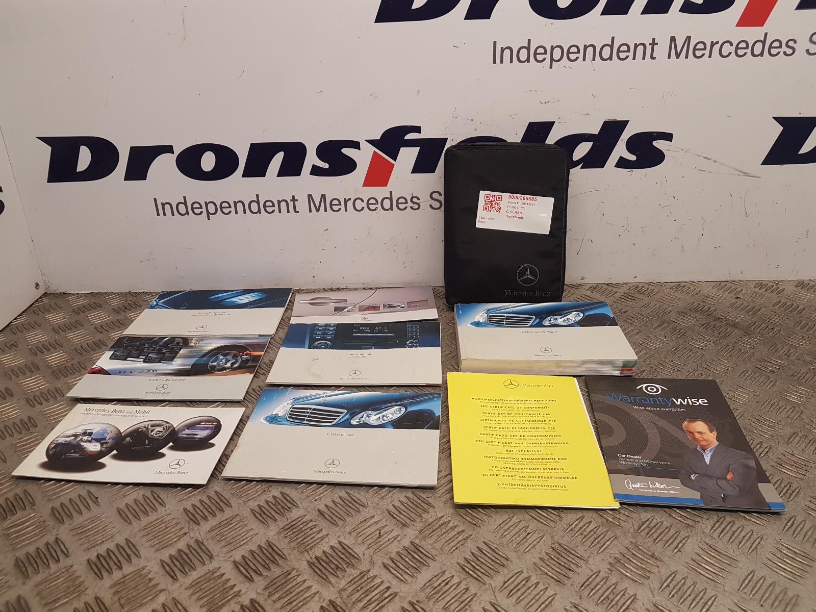 View Auto part Handbook Mercedes C Class 2004