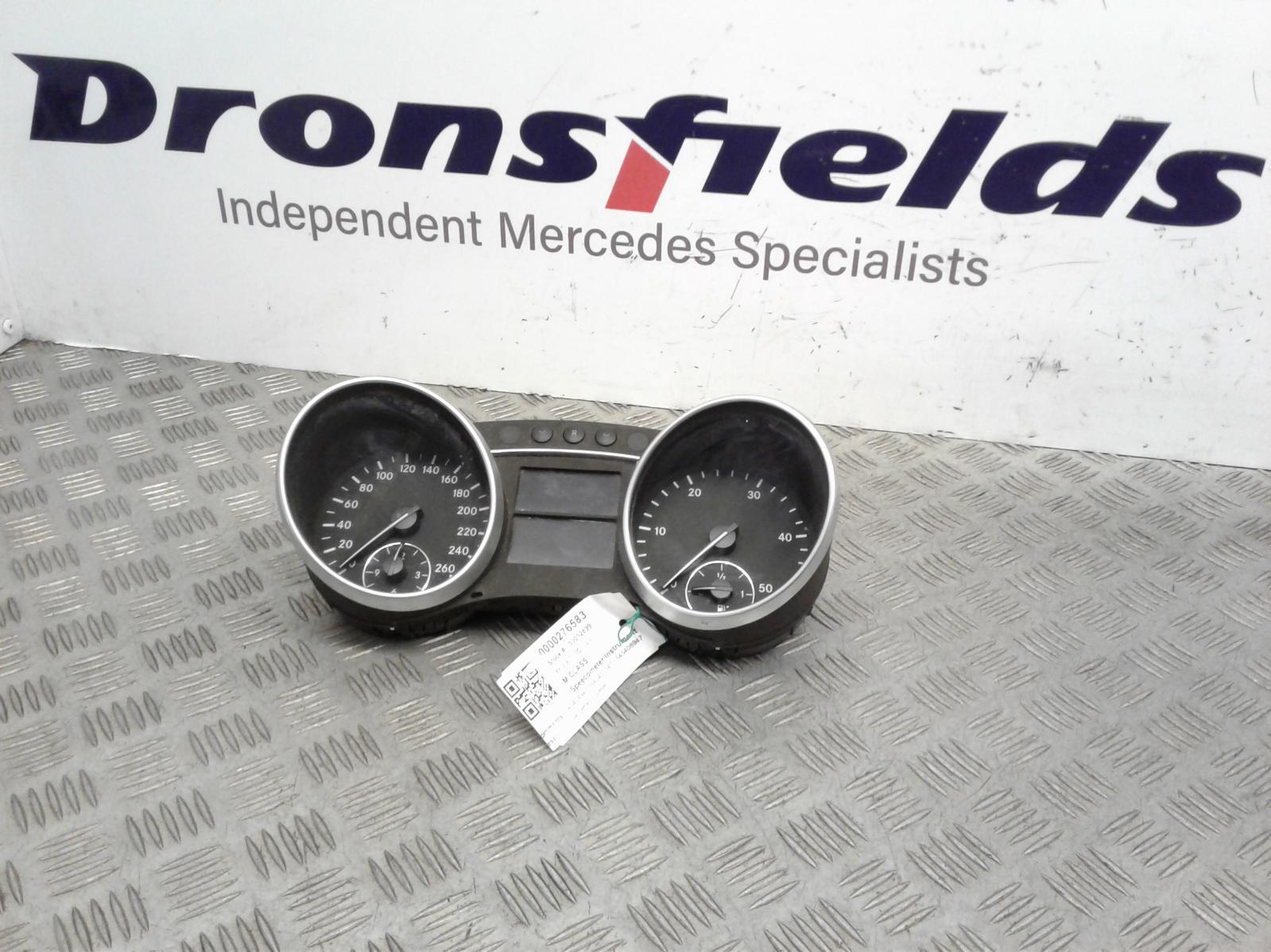View Auto part Speedometer Mercedes M Class 2007