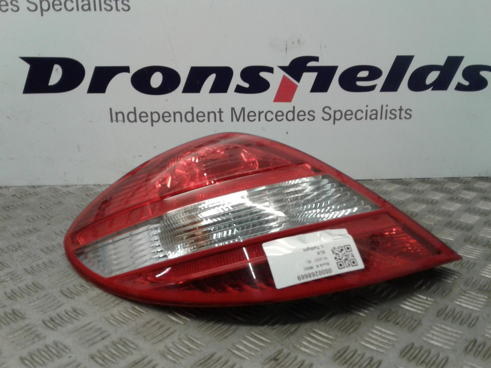 View Auto part L Taillight Mercedes Slk 2007