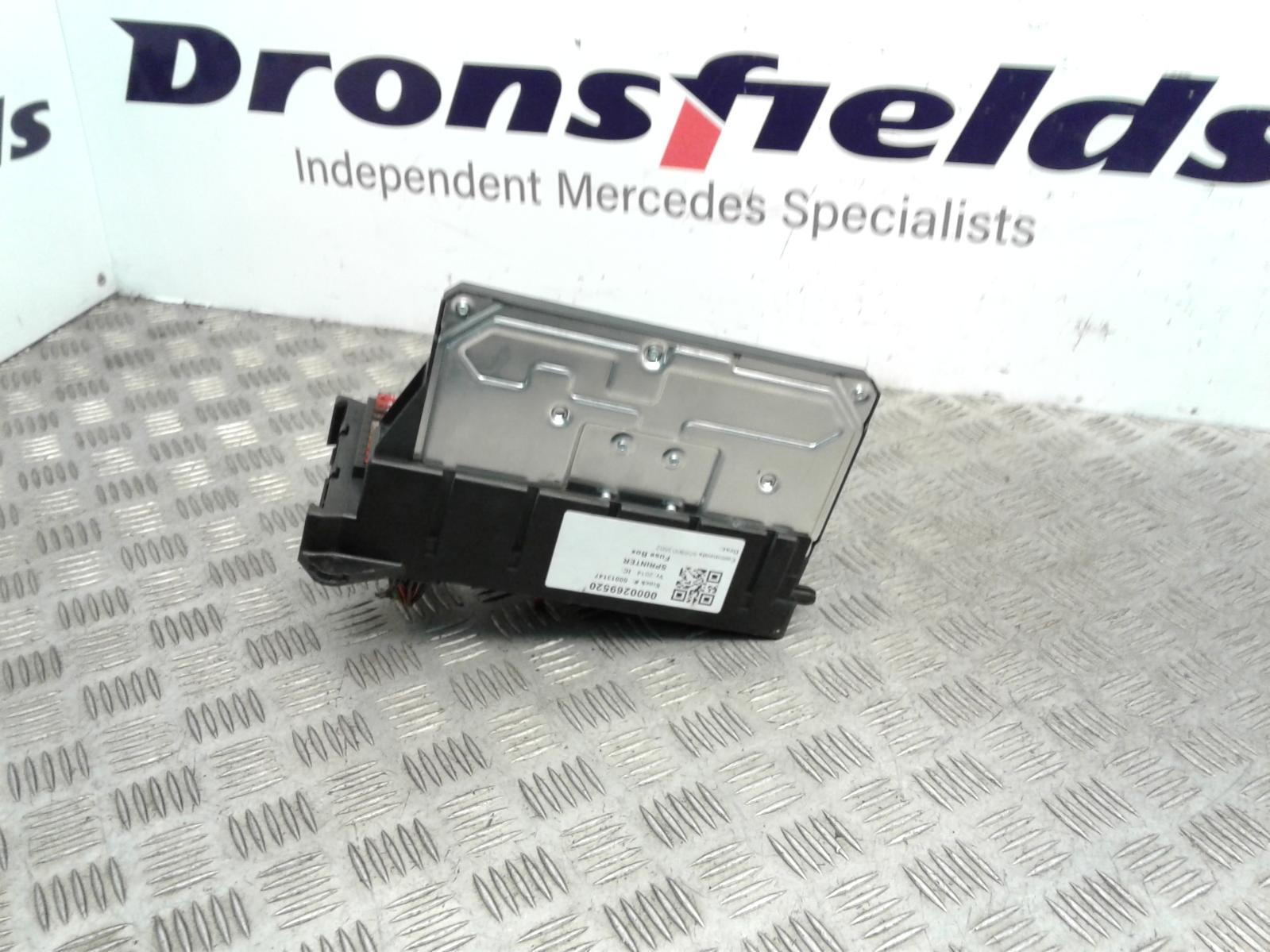 View Auto part Fuse Box Mercedes Sprinter 2014