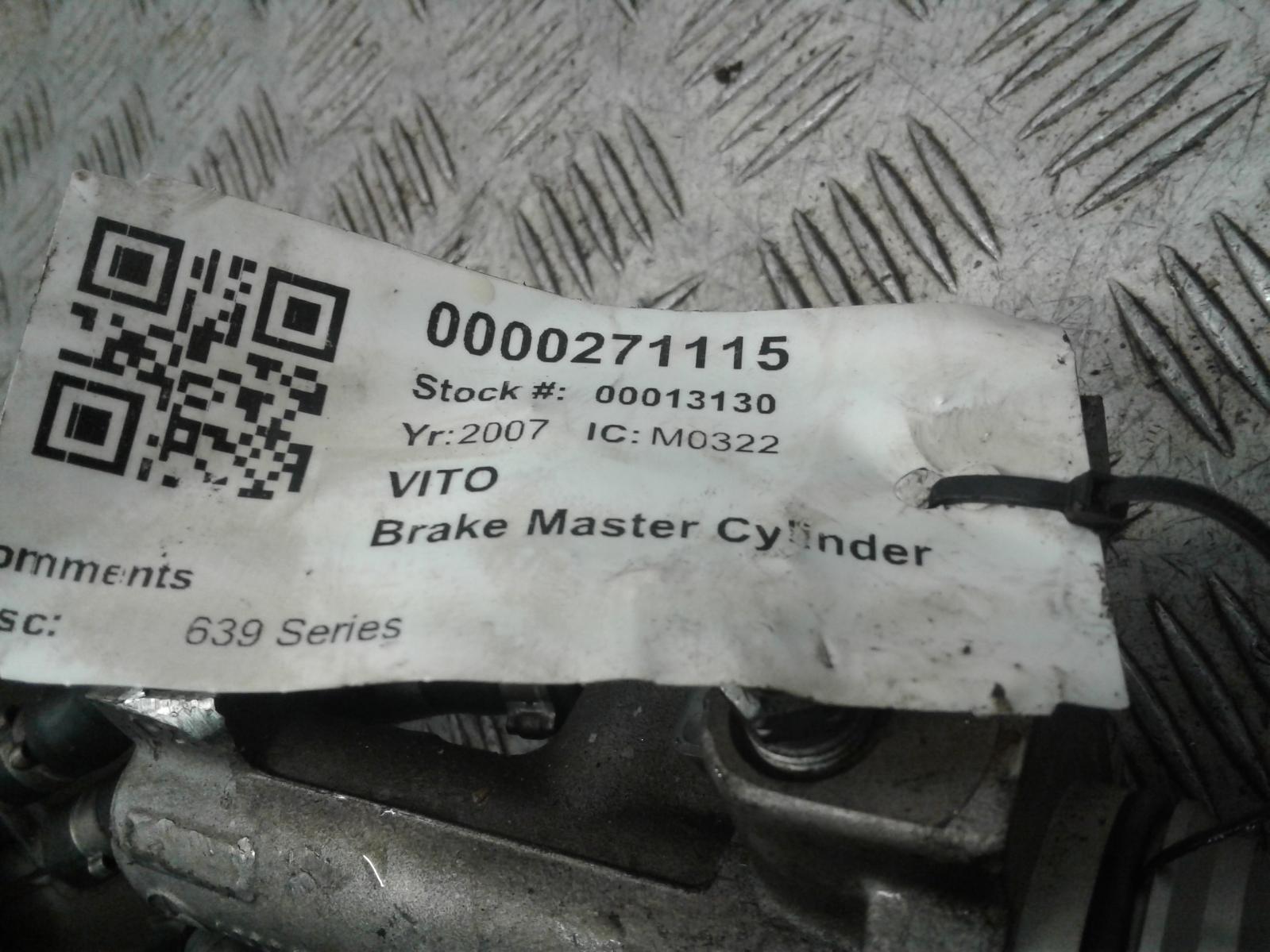 View Auto part Master Cyl.Reservoir Mercedes Vito 2007