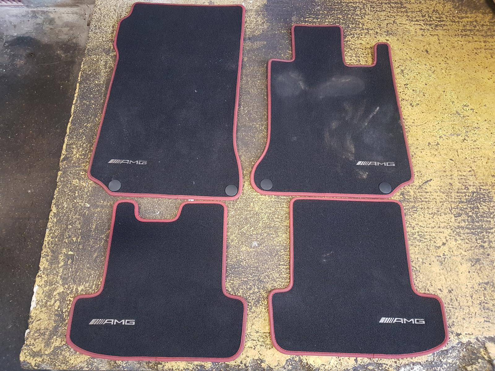 View Auto part Floor Mats/Boot Liner Mercedes C Class 2013