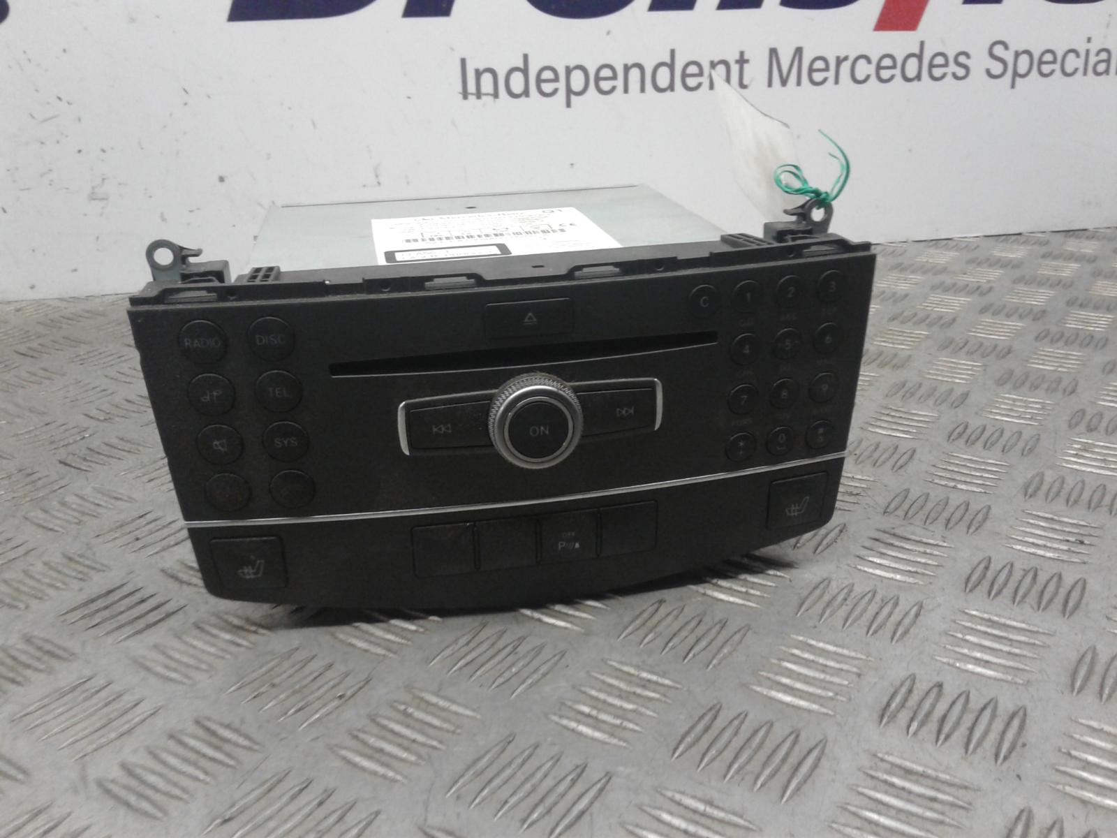 View Auto part A/V Equipment Mercedes C Class 2010