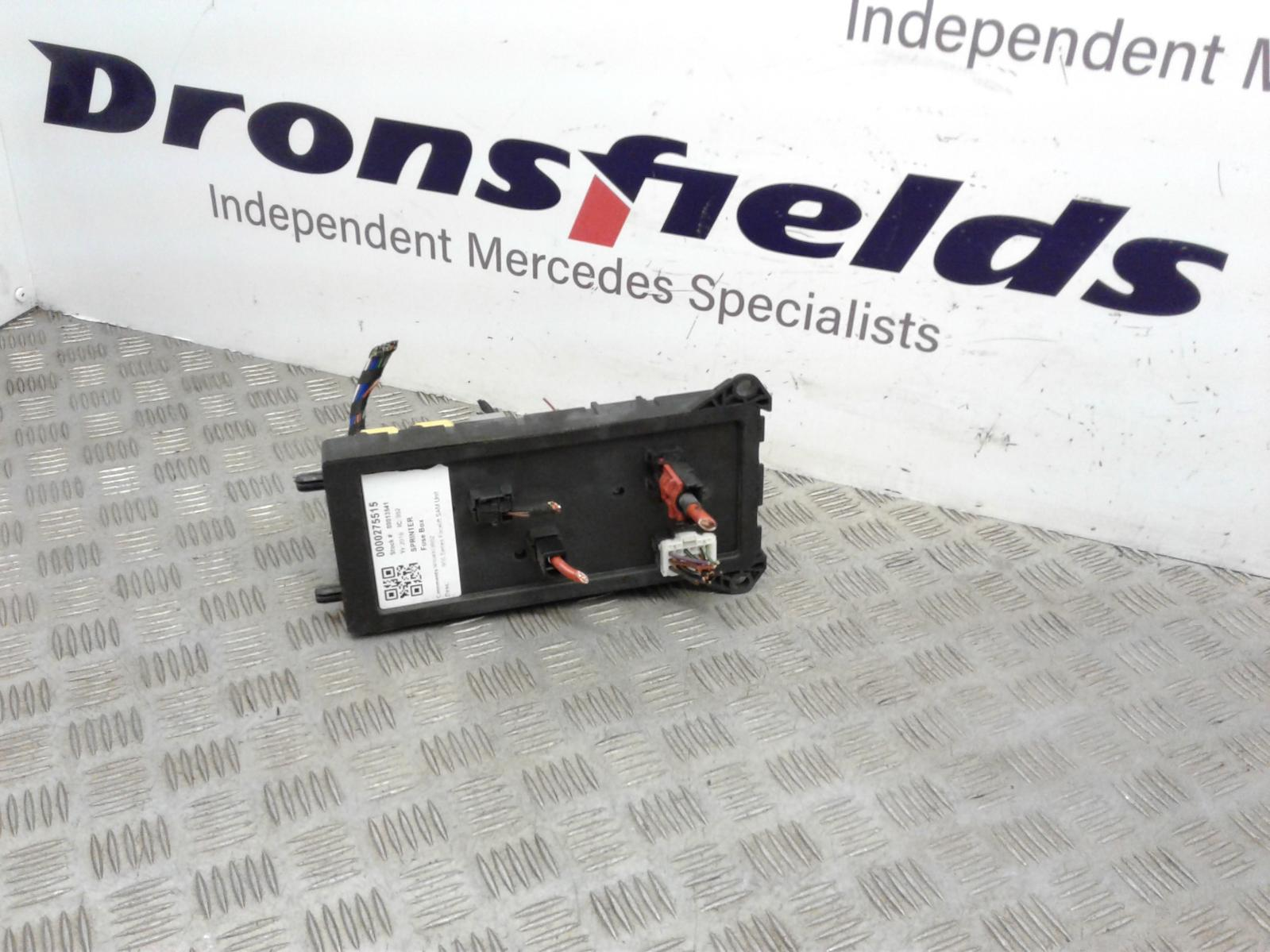 View Auto part Fuse Box Mercedes Sprinter 2016