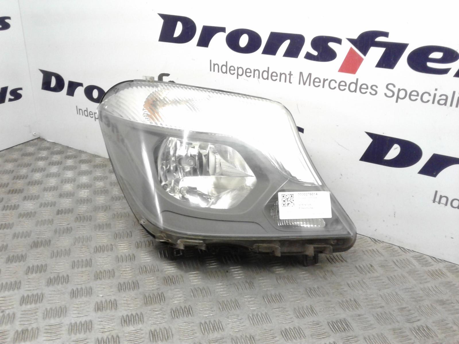 View Auto part R Headlamp Mercedes Sprinter 2015