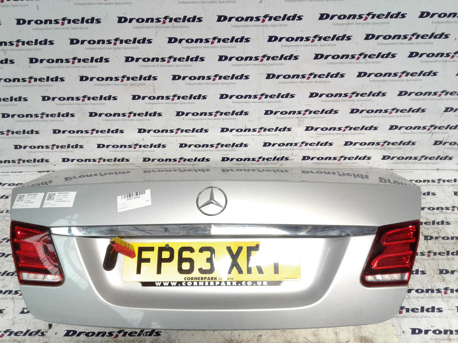 View Auto part Bootlid/Tailgate Mercedes E Class 2013
