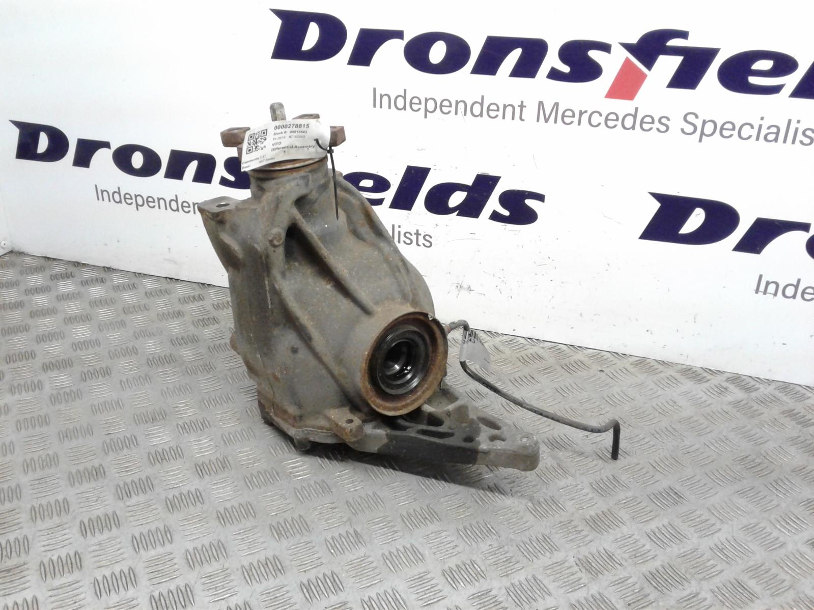 View Auto part Differential Assembly Mercedes Vito 2016