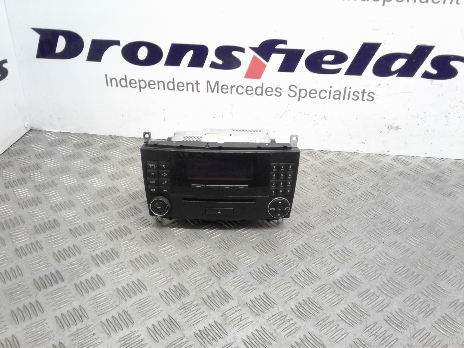 View Auto part A/V Equipment Mercedes C Class 2004