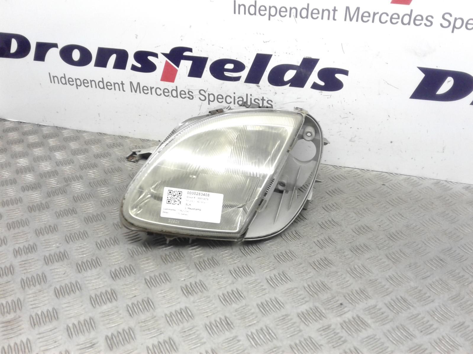 View Auto part L Headlamp Mercedes Slk 2003