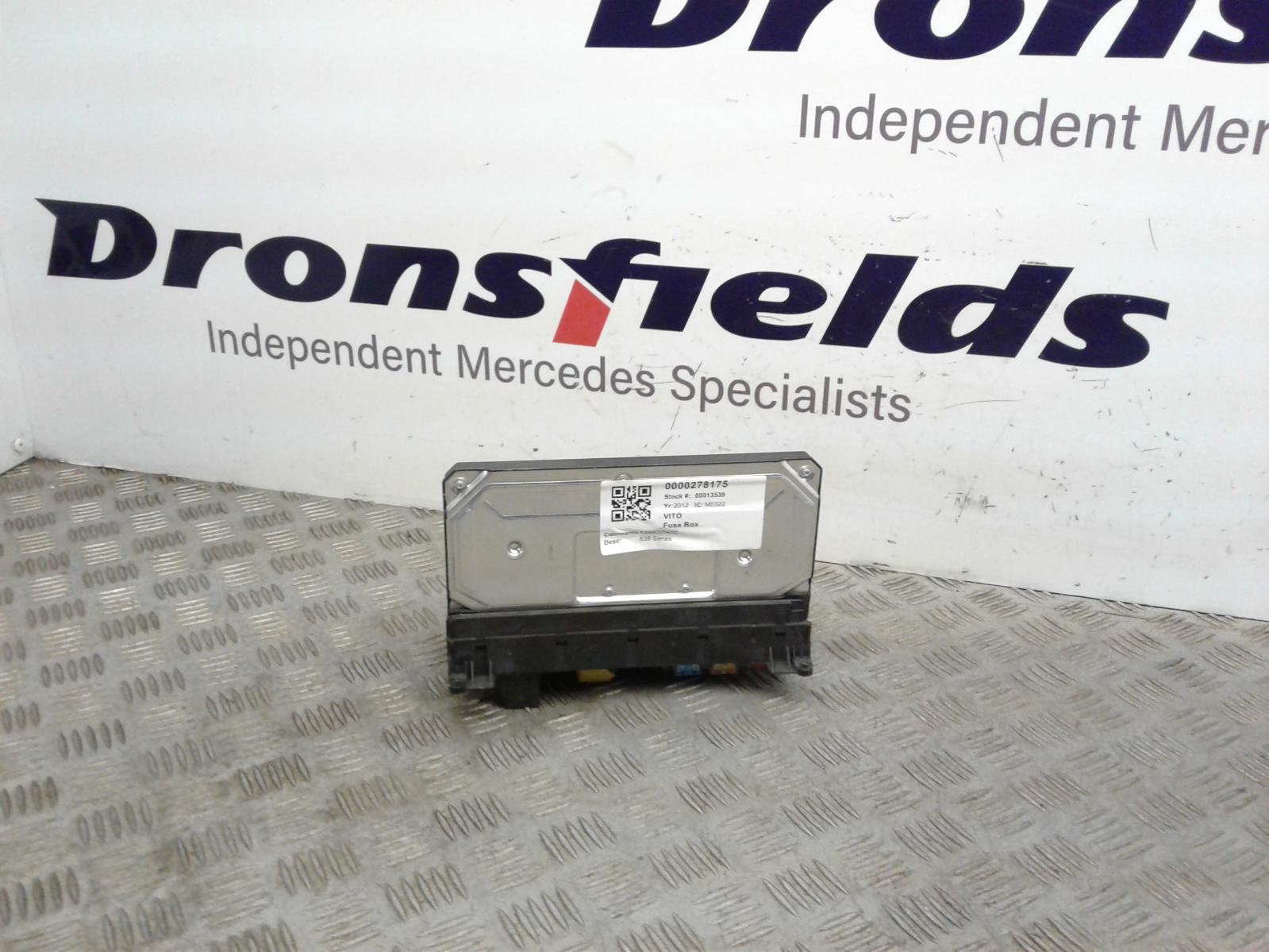View Auto part Fuse Box Mercedes Vito 2012