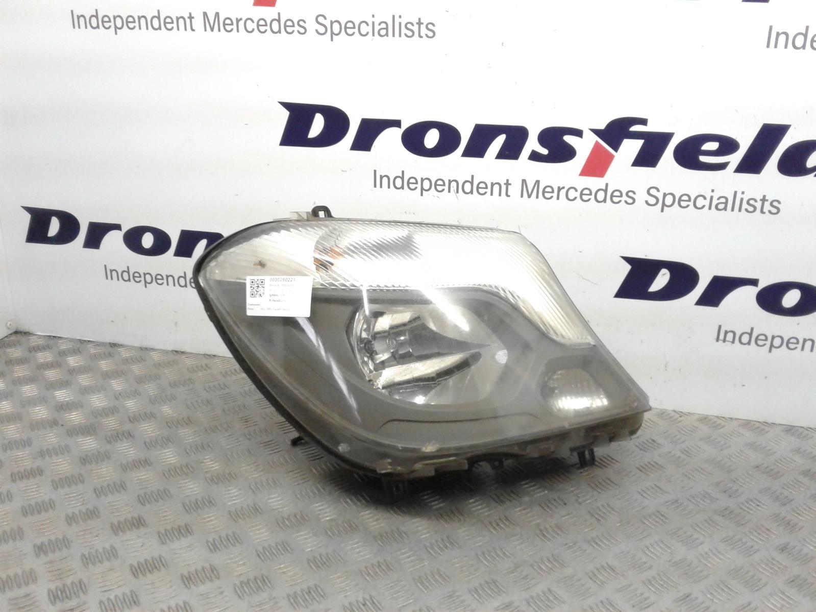 View Auto part R Headlamp Mercedes Sprinter 2014