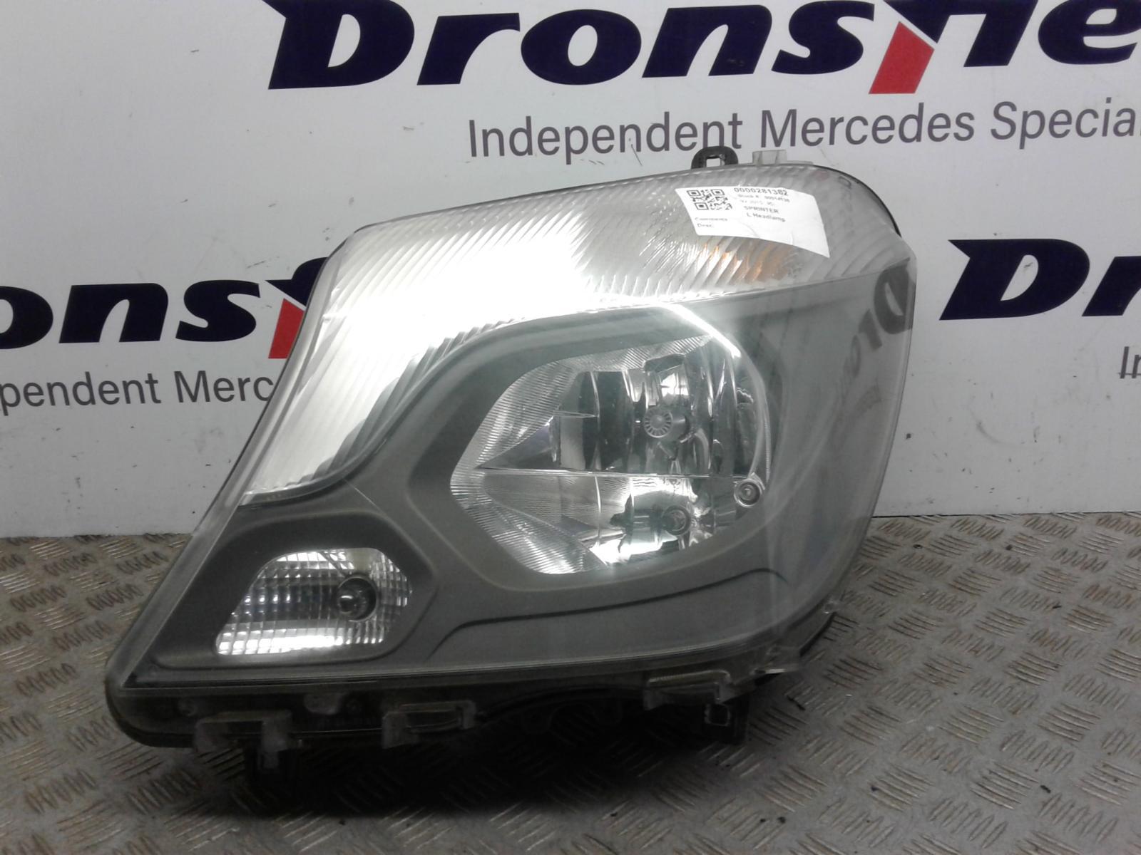 View Auto part L Headlamp Mercedes Sprinter 2015