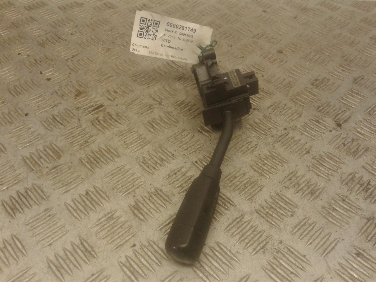 View Auto part Combination Switch Mercedes Vito 2012