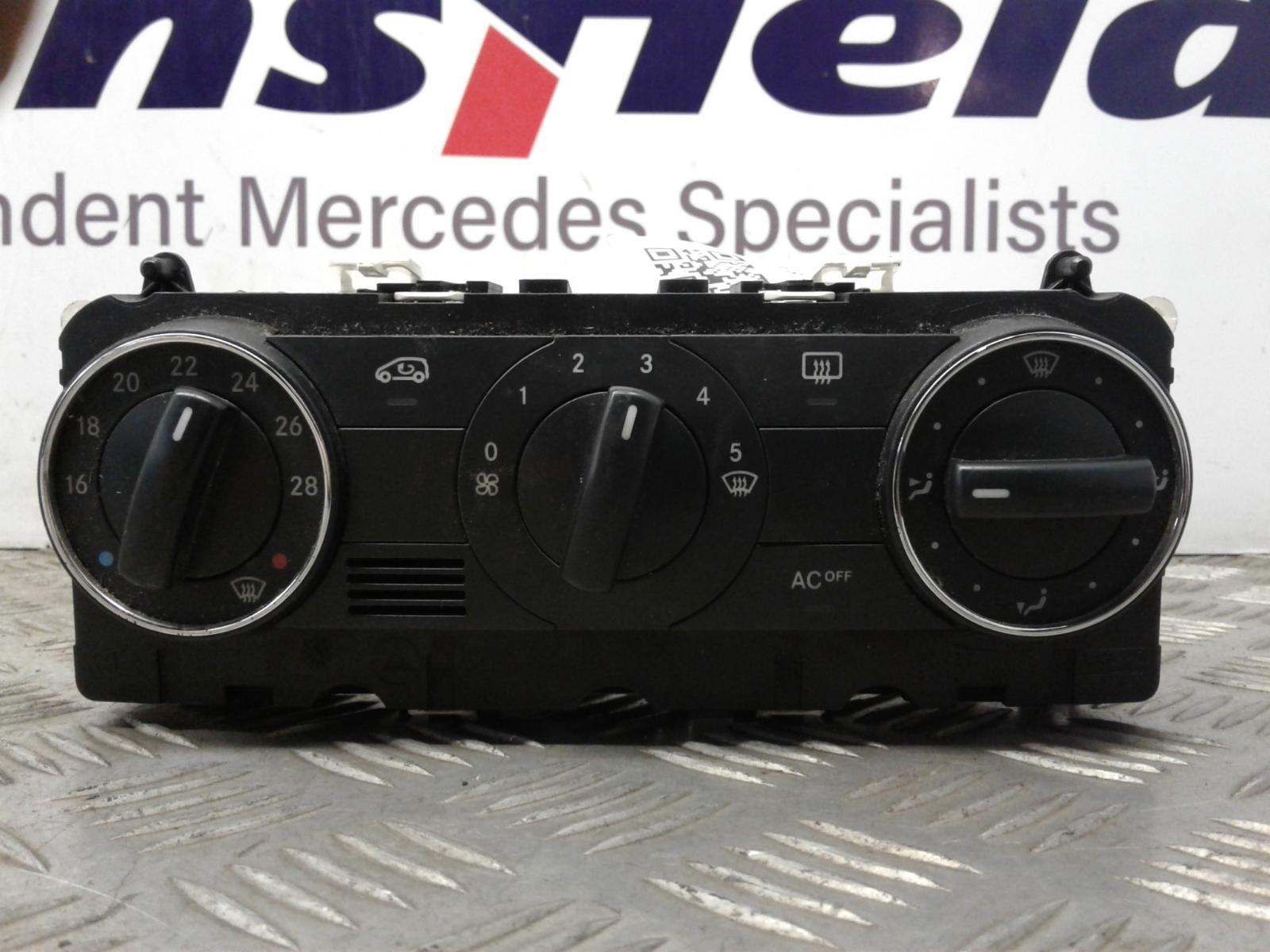 View Auto part Heater/AC Controller Mercedes A Class 2009