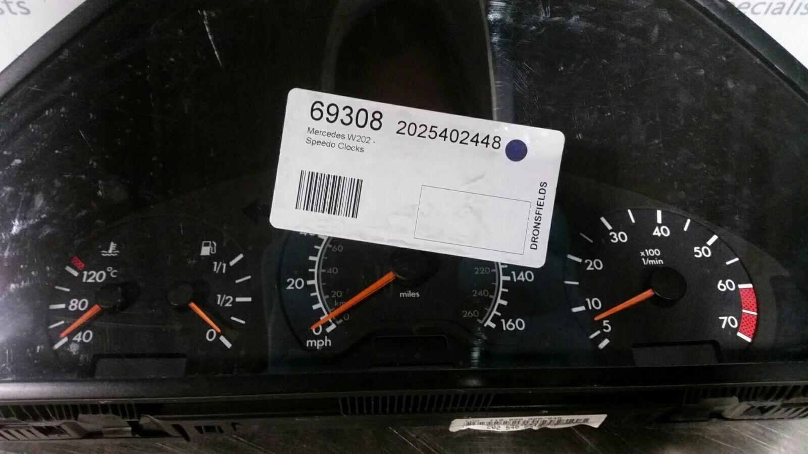 View Auto part Speedometer Mercedes C Class 1900