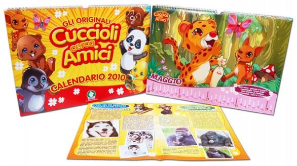 Cerca Calendario.Il Calendario 2010 Dei Cuccioli Cerca Amici