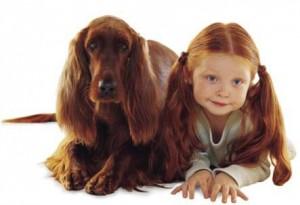 Una bambina e il suo cane!