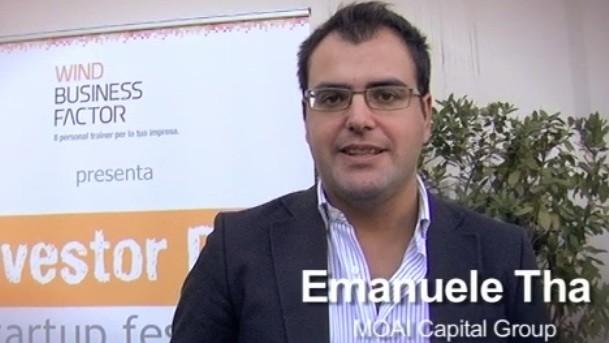 Emanuele Tha presenta le opportunità di investimento seed