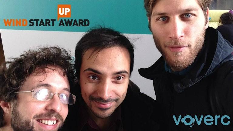 I pitch da cui farsi ispirare: Voverc, vincitore del Wind Startup Award 2014